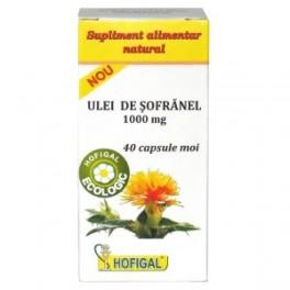 HOF Ulei de sofranel 1000 mg 40 cps moi