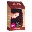 R Vopsea de par Henna Premium 30 minute castaniu 60 g