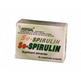 HOF Se-spirulin 40cpr