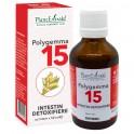 Polygemma 15 intestin detoxifiere 50 ml - Plant Extrakt TM